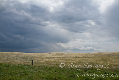 Storm on the Prairies