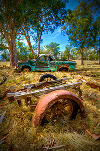 The Old 1950 Ford Mercury Ute and Other Paddock Parts