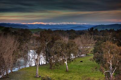 Snowy Mountains Fromm Jingellic