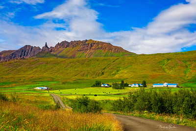 Auðnir Farm at Drangafjall Ridge