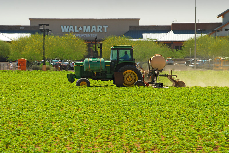 Rural vs Urban: Wal-mart