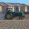 Rural vs Urban: Plowing Cotton Field<br /> Phoenix, Arizona