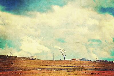 Vintage Rural Cloudscape