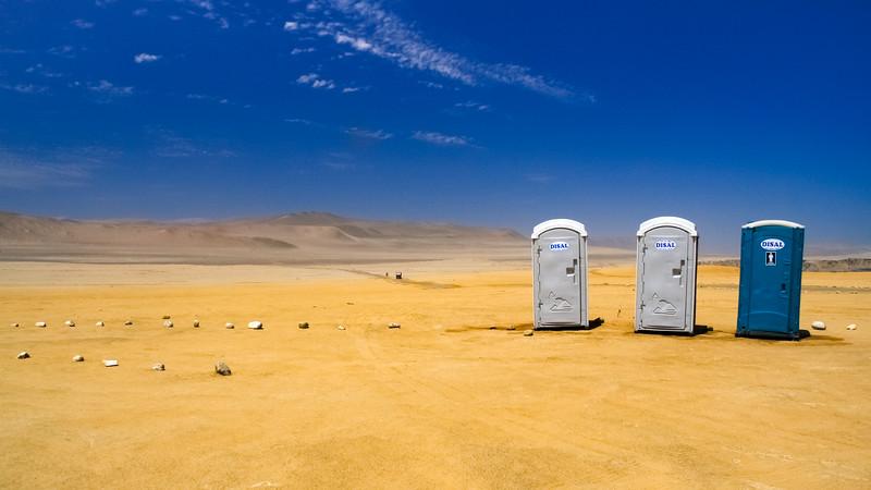 Desert Portacabin Toilets