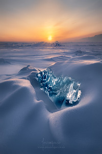 Ice and Fire V in Baikal Lake