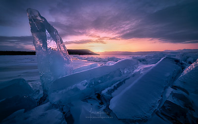 Ice and Fire II in Baikal Lake