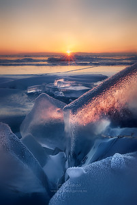 Ice and Fire in Baikal Lake VIII