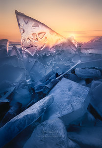 Ice and Fire in Baikal Lake VII