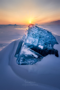 Ice and Fire in Baikal Lake VI