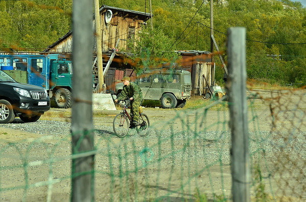 Titovka road cafe, rest station to Murmansk