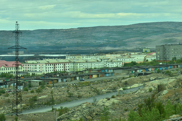Metal works, Nikel, Kola Peninsula