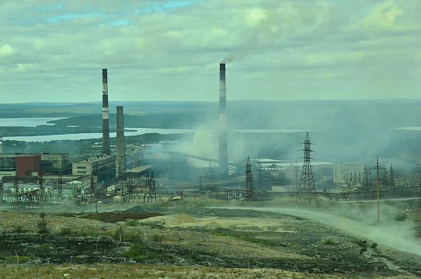 Nikel, Russian metallurgic industries, Kola peninsual