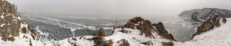 Uzuri village on Olchon Island - the gateway to cross Lake Baikal