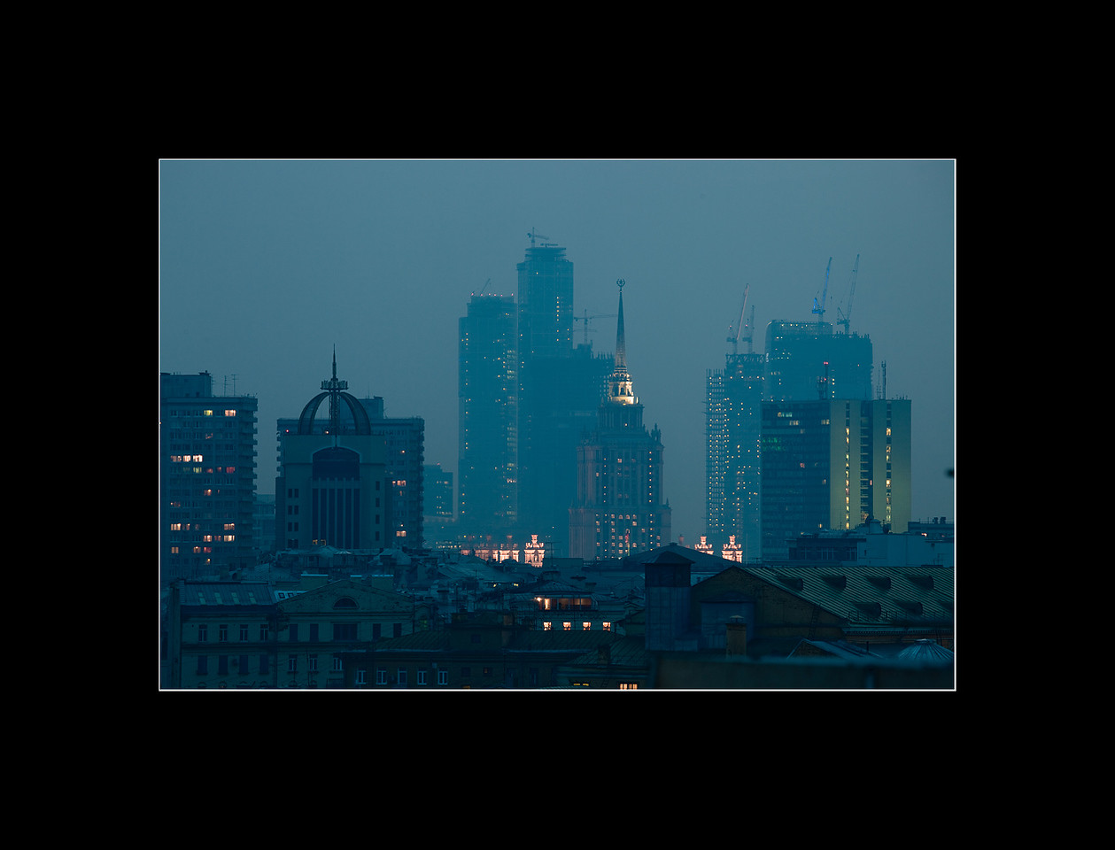 Moscow City development