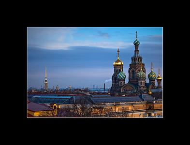 Church of the Spilled Blood, Saint Petersburg