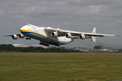 Reg: UR-82060 Operator: Antonov Airlines - Antonov Design Bureau Type:  Antonov An-225 Mriya		   C/n: 19530503763 / 01-01 Location:  Manchester - Ringway (MAN / EGCC) - UK        Photo Date: 26 June 2013 Photo ID: 1300706