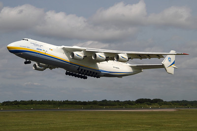 Reg: UR-82060 Operator: Antonov Airlines - Antonov Design Bureau Type:  Antonov An-225 Mriya		   C/n: 19530503763 / 01-01 Location:  Manchester - Ringway (MAN / EGCC) - UK        Photo Date: 26 June 2013 Photo ID: 1300707