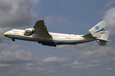 Reg: UR-82060 Operator: Antonov Airlines - Antonov Design Bureau Type:  Antonov An-225 Mriya		   C/n: 19530503763 / 01-01 Location:  Manchester - Ringway (MAN / EGCC) - UK        Photo Date: 26 June 2013 Photo ID: 1300709