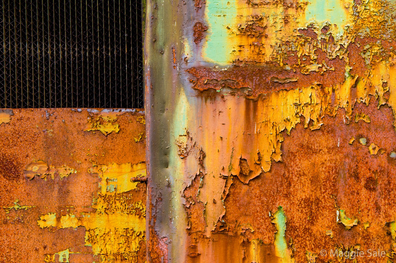 Orange and rust