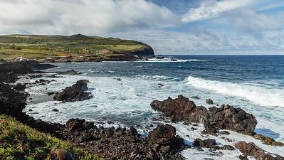 Shoreline near Hanga Roa