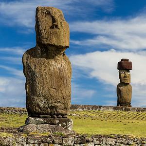 Moai, Ahu Tahai and Ahu Ko Te Riku
