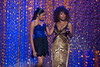 """Sheryl Lee with her daughter who is wearing one of Sheryl Lee's original """"Deanna"""" dresses from Dreamgirls."""