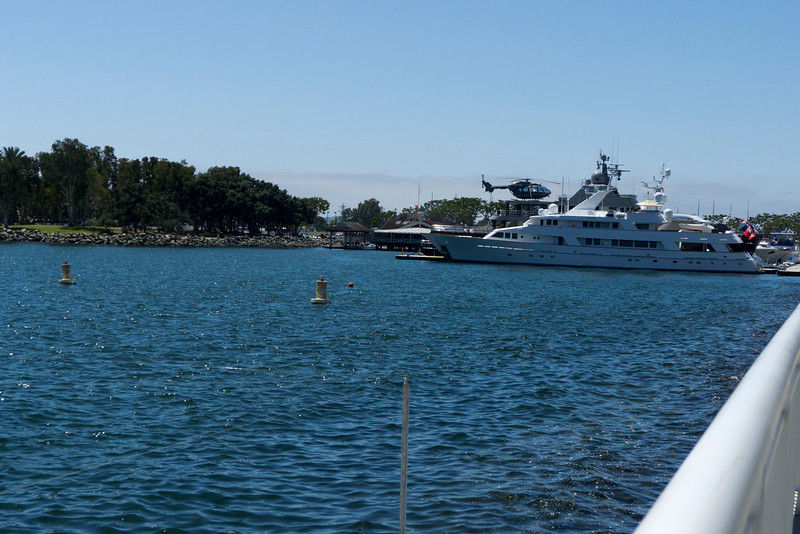Yeah, I just pulled up on my yacht next to the convention center and when I want to go anywhere I just hop on my 'copter.