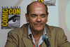 Robert Picardo on the Quantum Quest panel. A new 3-D animation with actual NASA photos as background. Great voice cast but the character animation isn't very good (at least what we saw)