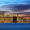 San Francisco Holiday Skyline