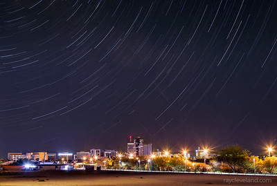 Tucson Star trails