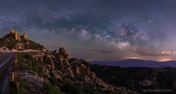 Milky way at Hoodoo Vista Point