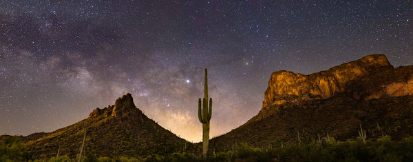 Milky way at Picacho Peak State Park