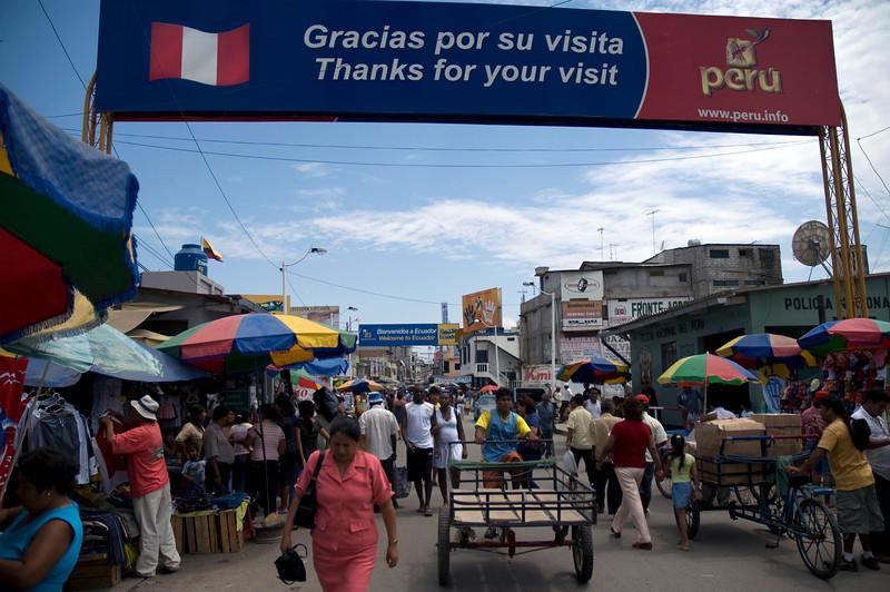 Ecuador Peru border