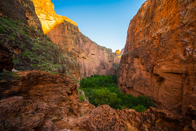 On the Hike to Beaver Falls | Havasupai Indian Reservation