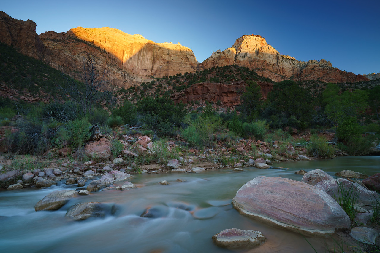 The Streaked Wall & The Sentinel | Zion National Park, UT