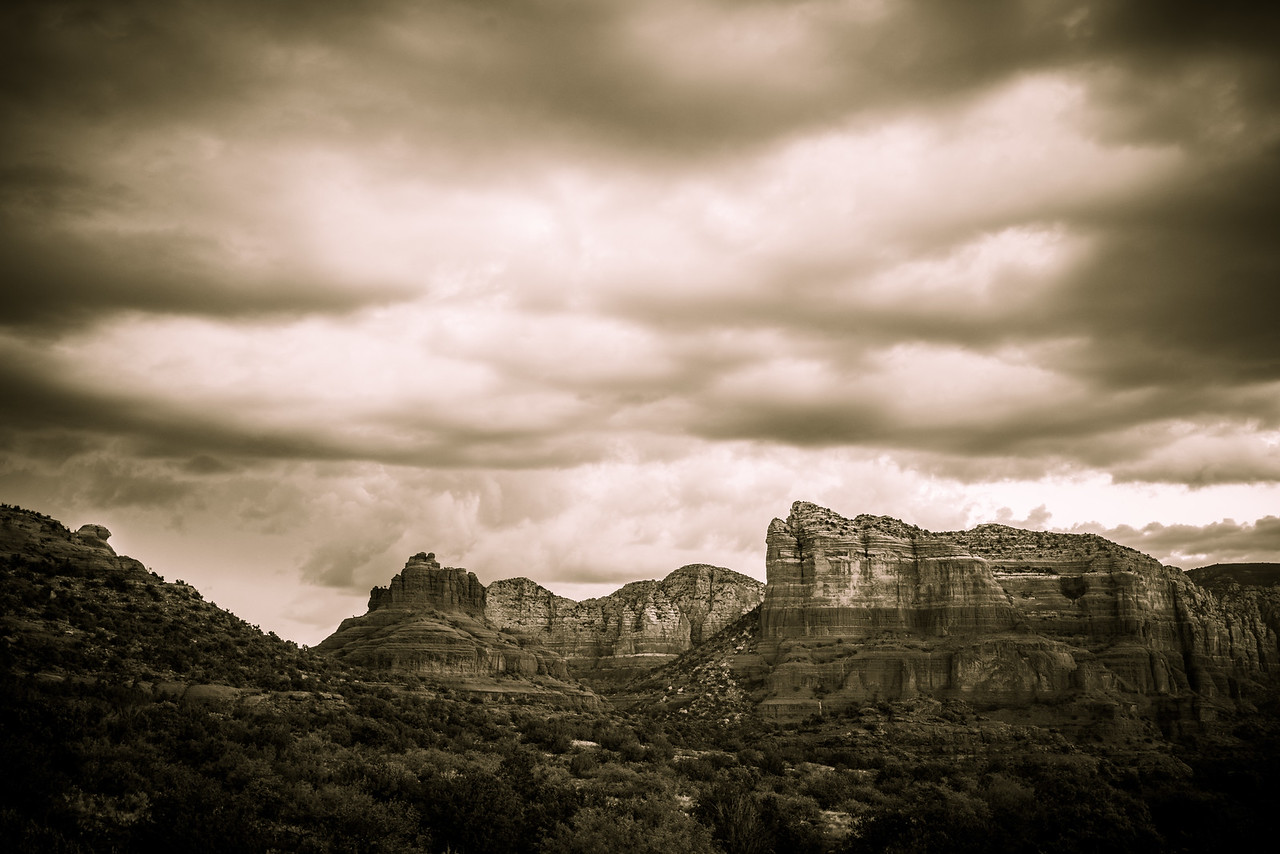 Sphinx, Bell Rock, and Courthouse Bute | Sedona, AZ