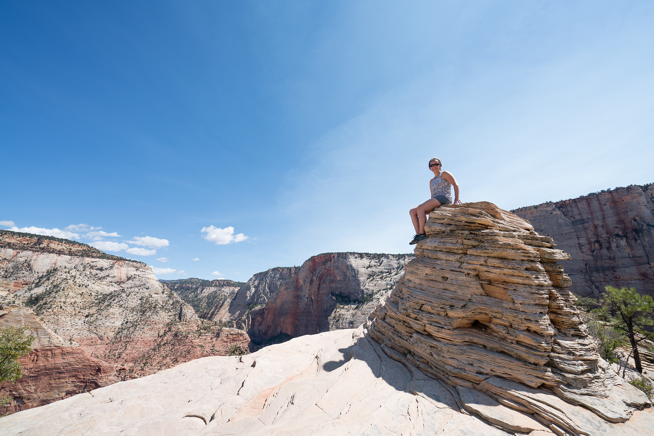 On Top of the World | Angels Landing, Zion National Park, UT