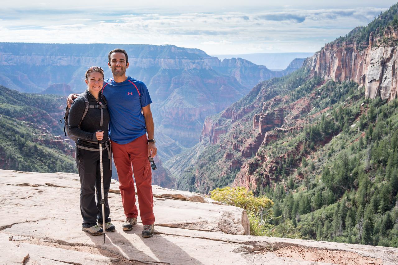 North Kaibab Trail Overlook | North Rim Grand Canyon, AZ
