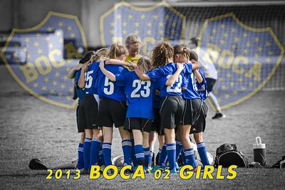 2013 BOCA 02 Girls U11
