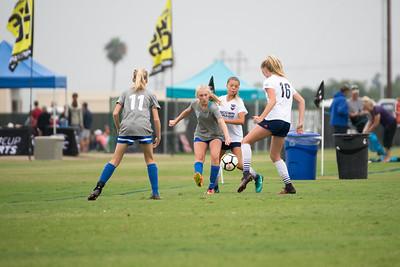 07/31/17 - San Juan ECNL @ San Diego SC Academy Navy  (03 Girls U15)