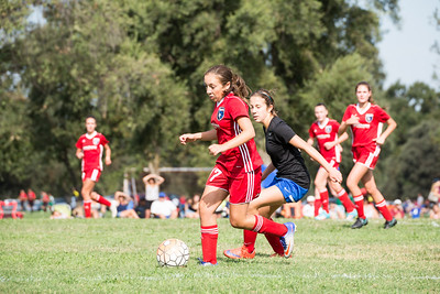 08/05/17 - Folsom Lake Earthquakes Premier (03 Girls U15) @ San Juan Blue (02 Girls U16)