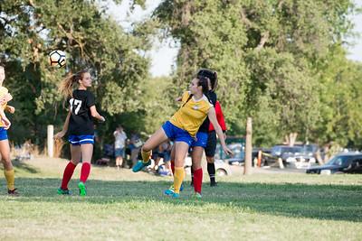 08/05/17 - Santa Rosa United Blue (02 Girls U16) at San Juan ECNL (03 Girls U15)