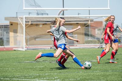 08/26/17 - San Juan ECNL (03 Girls U15) at Folsom Lake Earthquakes Premier (02 Girls U16)