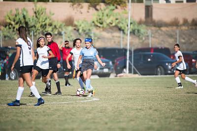 San Juan 03 Girls U14 ECNL 11/26/16 - Silver Lakes Tournament