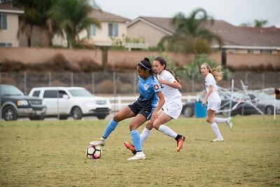 San Juan 03 Girls U14 ECNL 11/27/16 - Silver Lakes Tournament