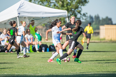 06/11/17 - West Coast Kaos @ San Juan ECNL (03 Girls U15)