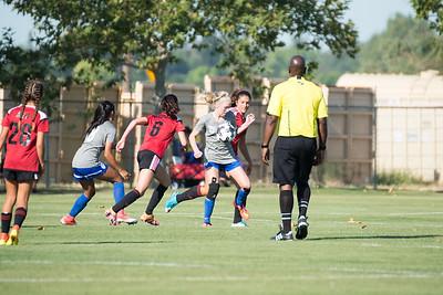 07/14/17 - OV Toros FC Black @ San Juan ECNL (03 Girls U15)