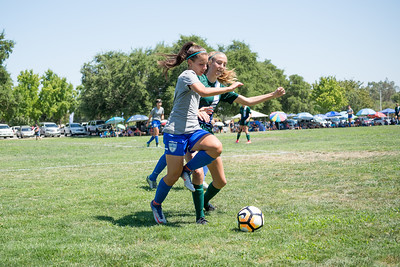 08/06/17 - San Juan ECNL (03 Girls U15) at 49er United Shooting Stars (02 Girls U16)