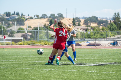08/26/17 - San Juan ECNL (03 Girls U15) at Folsom Lake Earthquakes Premier (02 Girls U16)