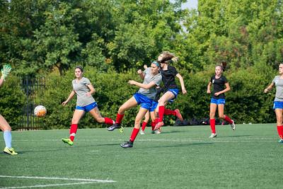 09/02/17 - San Juan ECNL 03 Girls v 02 Girls Scrimmage